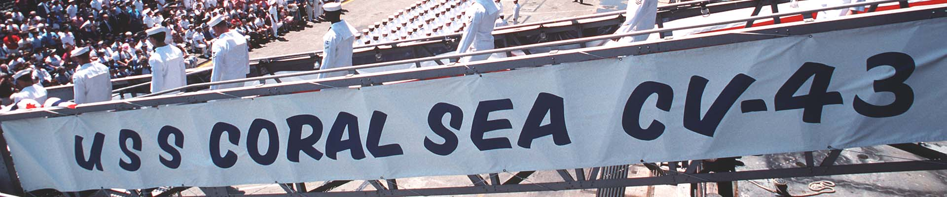 'USS Coral Sea Tribute Site' from the web at 'http://www.usscoralsea.net/banner3/b3_DN-ST-90-08565.jpg'