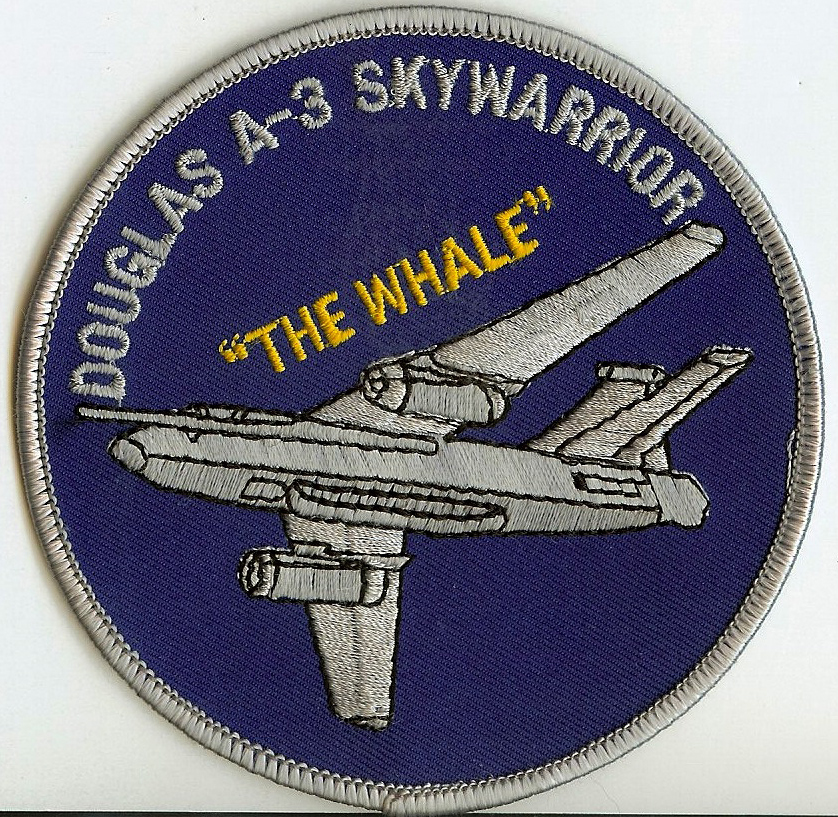 ' ' from the web at 'http://www.usscoralsea.net/images/caA3Whale.jpg'