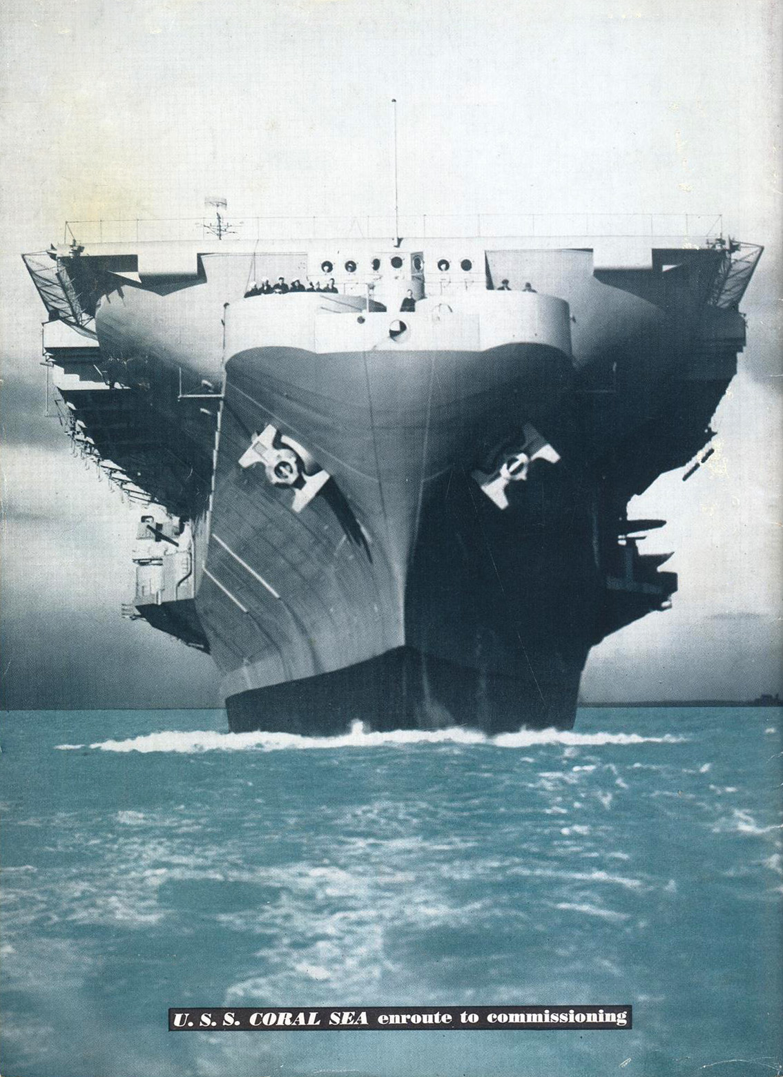 ' ' from the web at 'http://www.usscoralsea.net/images/comm194707.jpg'