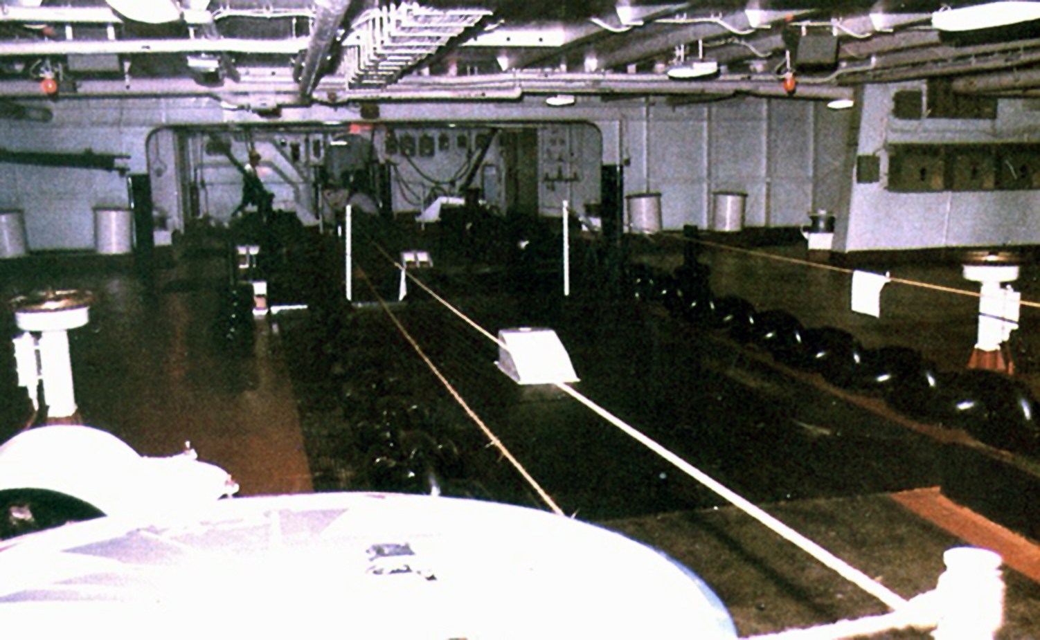 'Hi Resolution Photo Click Here' from the web at 'http://www.usscoralsea.net/images/cv431979focsle1119.jpg'