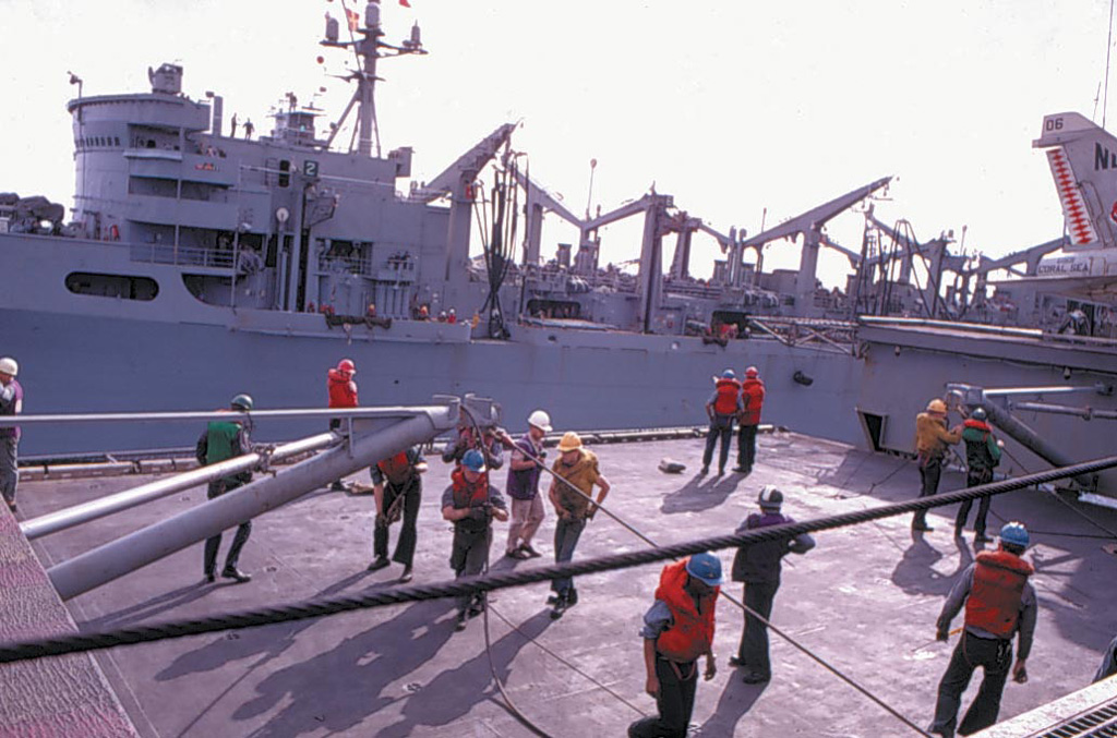 ' ' from the web at 'http://www.usscoralsea.net/images/cva431969UNREPrigJG.jpg'