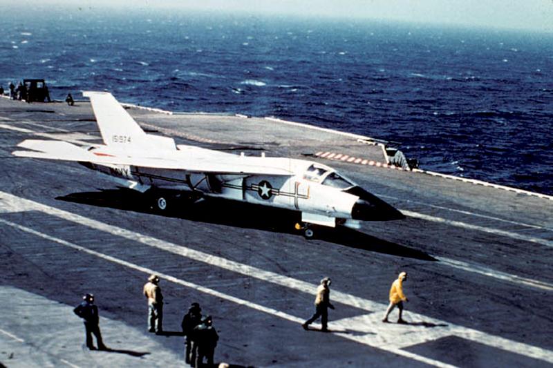 USS Coral Sea Tribute Site - F-111B