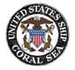 'USS Coral Sea - Original Ships Logo' from the web at 'http://www.usscoralsea.net/images/orgshiplog.png'