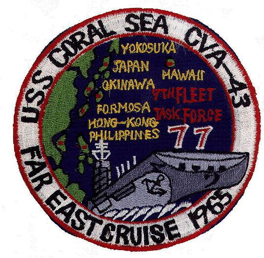 ' ' from the web at 'http://www.usscoralsea.net/images/patch196577.jpg'