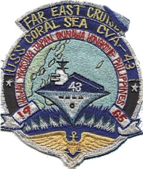 ' ' from the web at 'http://www.usscoralsea.net/images/patch1965wings.jpg'