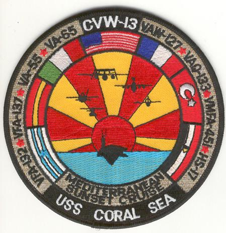 ' ' from the web at 'http://www.usscoralsea.net/images/patch1989.jpg'