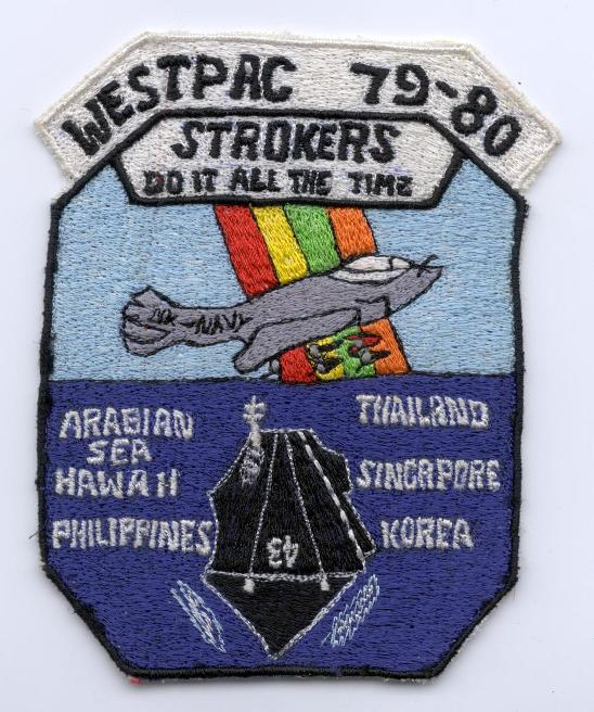' ' from the web at 'http://www.usscoralsea.net/images/patch7980strokera6.jpg'