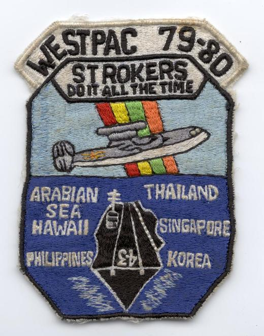 ' ' from the web at 'http://www.usscoralsea.net/images/patch7980strokere2.jpg'