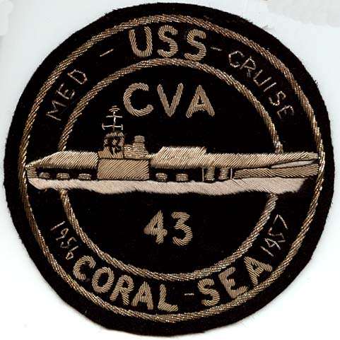 ' ' from the web at 'http://www.usscoralsea.net/images/patchCoral56.jpg'