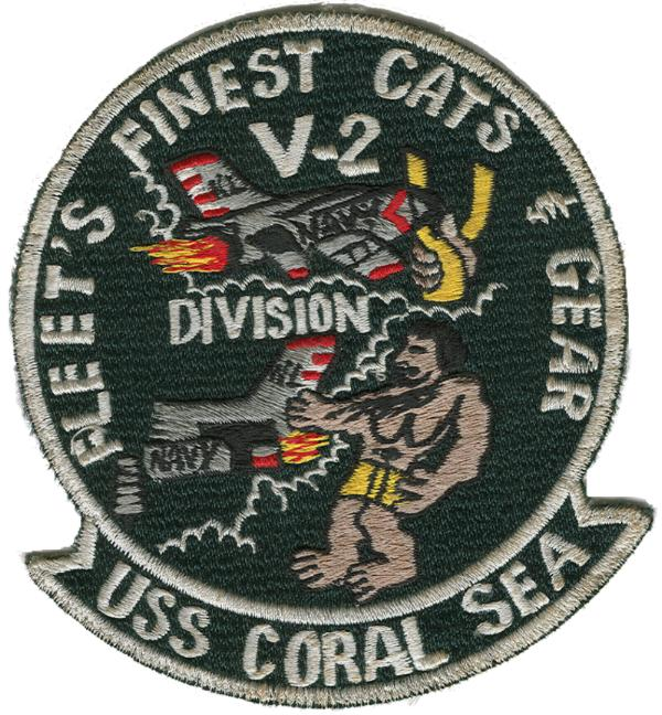 ' ' from the web at 'http://www.usscoralsea.net/images/rtpatch1.jpg'