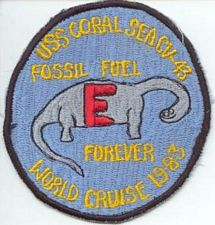 '[USS CORAL SEA TRIBUTE SITE]' from the web at 'http://www.usscoralsea.net/images/vtn_83epatch.jpg'