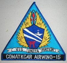 '[USS CORAL SEA TRIBUTE SITE]' from the web at 'http://www.usscoralsea.net/images/vtn_airwing15sk.jpg'