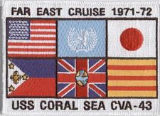 '[USS CORAL SEA TRIBUTE SITE]' from the web at 'http://www.usscoralsea.net/images/vtn_cruise7172.jpg'