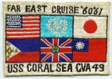'[USS CORAL SEA TRIBUTE SITE]' from the web at 'http://www.usscoralsea.net/images/vtn_cruisepatchrm.jpg'