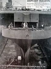 '[USS CORAL SEA TRIBUTE SITE]' from the web at 'http://www.usscoralsea.net/images/vtn_cv4319460318construction.jpg'