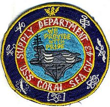 '[USS CORAL SEA TRIBUTE SITE]' from the web at 'http://www.usscoralsea.net/images/vtn_cv43patchsupplyeb.jpg'