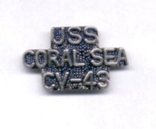 '[USS CORAL SEA TRIBUTE SITE]' from the web at 'http://www.usscoralsea.net/images/vtn_cv43pin1.jpg'