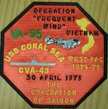 '[USS CORAL SEA TRIBUTE SITE]' from the web at 'http://www.usscoralsea.net/images/vtn_cva431975VA-95westpacsd.jpg'