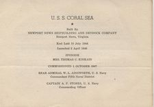 '[USS CORAL SEA TRIBUTE SITE]' from the web at 'http://www.usscoralsea.net/images/vtn_cvb4310011947commpam2.jpg'