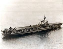 '[USS CORAL SEA TRIBUTE SITE]' from the web at 'http://www.usscoralsea.net/images/vtn_cvb43121047FirstAirOps.jpg'