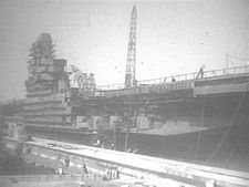 '[USS CORAL SEA TRIBUTE SITE]' from the web at 'http://www.usscoralsea.net/images/vtn_cvb431946build.jpg'