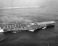 '[USS CORAL SEA TRIBUTE SITE]' from the web at 'http://www.usscoralsea.net/images/vtn_cvb431948starboard.jpg'