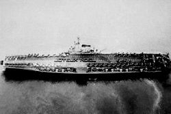 '[USS CORAL SEA TRIBUTE SITE]' from the web at 'http://www.usscoralsea.net/images/vtn_cvb431950sjnen3.jpg'