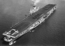 '[USS CORAL SEA TRIBUTE SITE]' from the web at 'http://www.usscoralsea.net/images/vtn_cvb43195240YearsKC.jpg'