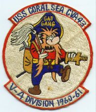 '[USS CORAL SEA TRIBUTE SITE]' from the web at 'http://www.usscoralsea.net/images/vtn_gasgangpatchrm.jpg'