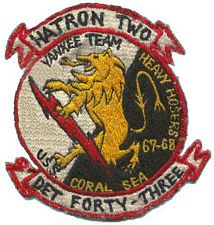 '[USS CORAL SEA TRIBUTE SITE]' from the web at 'http://www.usscoralsea.net/images/vtn_ht2patch.jpg'