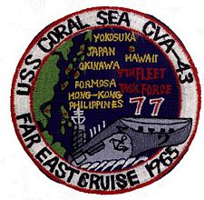 '[USS CORAL SEA TRIBUTE SITE]' from the web at 'http://www.usscoralsea.net/images/vtn_patch196577.jpg'