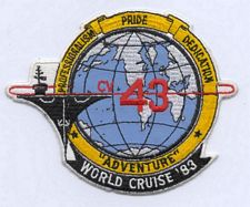 '[USS CORAL SEA TRIBUTE SITE]' from the web at 'http://www.usscoralsea.net/images/vtn_patch83worlddn.jpg'