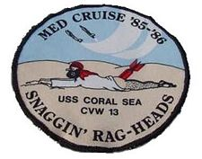 '[USS CORAL SEA TRIBUTE SITE]' from the web at 'http://www.usscoralsea.net/images/vtn_patch8586rag.jpg'