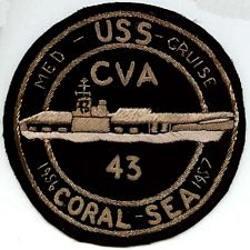 '[USS CORAL SEA TRIBUTE SITE]' from the web at 'http://www.usscoralsea.net/images/vtn_patchCoral56.jpg'