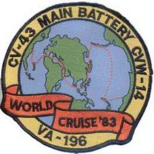 '[USS CORAL SEA TRIBUTE SITE]' from the web at 'http://www.usscoralsea.net/images/vtn_va196patch.jpg'