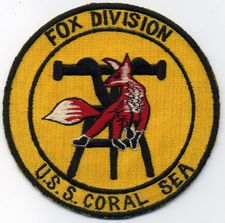 '[USS CORAL SEA TRIBUTE SITE]' from the web at 'http://www.usscoralsea.net/images/vtn_wdlate60sFpatch.jpg'