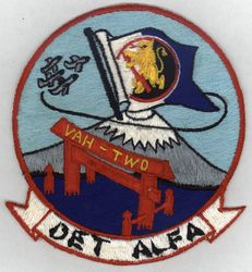 '[USS CORAL SEA TRIBUTE SITE]' from the web at 'http://www.usscoralsea.net/images/vtn_web_cva43patch6667VAH-2rl.jpg'