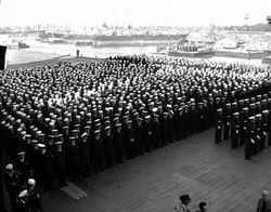 '[USS CORAL SEA TRIBUTE SITE]' from the web at 'http://www.usscoralsea.net/images/vtn_web_cvb4310011947comm02.jpg'