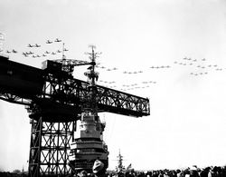 '[USS CORAL SEA TRIBUTE SITE]' from the web at 'http://www.usscoralsea.net/images/vtn_web_cvb4310011947comm04.jpg'
