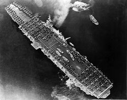 '[USS CORAL SEA TRIBUTE SITE]' from the web at 'http://www.usscoralsea.net/images/vtn_web_cvb431948lo.jpg'