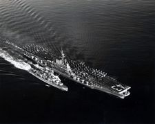 '[USS CORAL SEA TRIBUTE SITE]' from the web at 'http://www.usscoralsea.net/images/vtn_web_cvb431951MED 880.jpg'