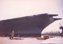 '[USS CORAL SEA TRIBUTE SITE]' from the web at 'http://www.usscoralsea.net/images/vtn_web_excv431991Philly2uk.jpg'