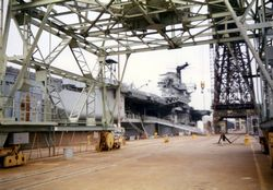 '[USS CORAL SEA TRIBUTE SITE]' from the web at 'http://www.usscoralsea.net/images/vtn_web_excv431991Philly4uk.jpg'