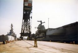 '[USS CORAL SEA TRIBUTE SITE]' from the web at 'http://www.usscoralsea.net/images/vtn_web_excv431991Philly5uk.jpg'
