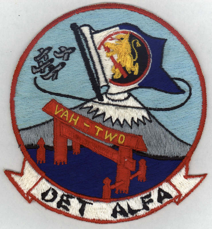 ' ' from the web at 'http://www.usscoralsea.net/images/web_cva43patch6667VAH-2rl.jpg'